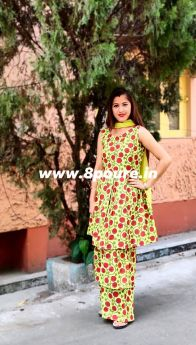 Cotton Kalamkari Three Piece Set