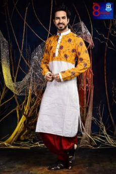 Embroidered Designer Kurta
