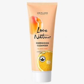 Energising Cleanser with Organic Apricot & Orange