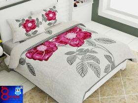 King Size Pure Cotton Double  Premium Bed Sheet