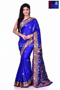 Rich & Royal - Exclusive Tussare Silk Parshi Saree