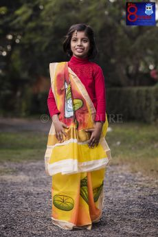 Kerala cotton handpaint