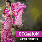 Occasion wear sarees